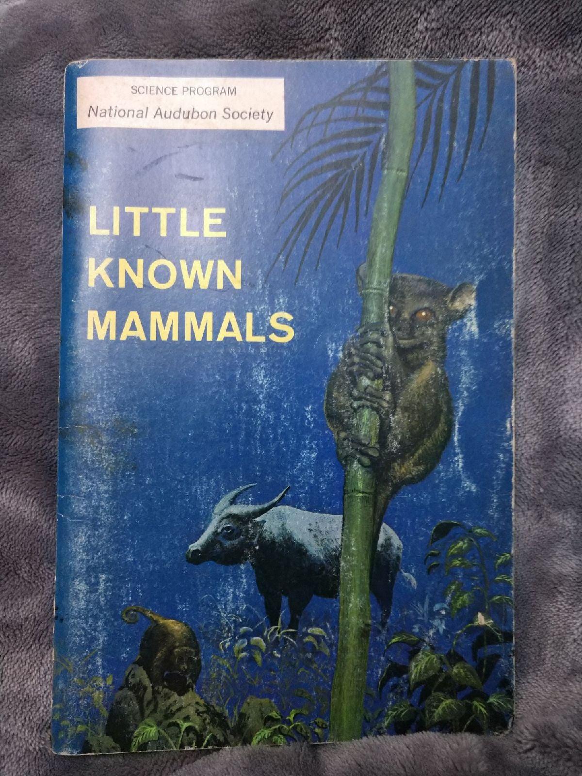Little Know Mammals National Audubon