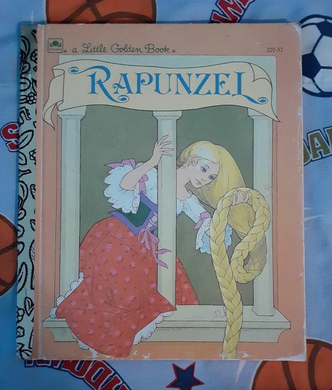 Rapunzel Little Golden Classics Book