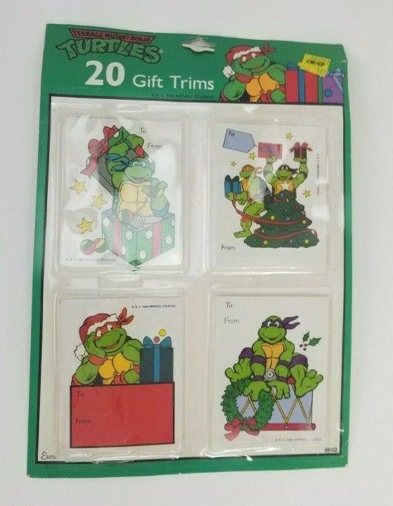 1989 Teenage Mutant Ninja Turtles Tags