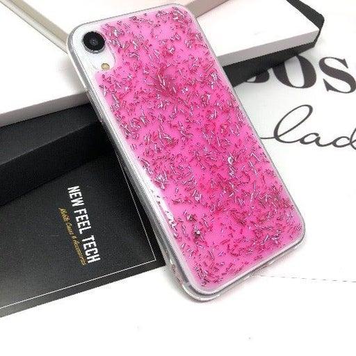 NEW iPhone XR Pink Glitter Case