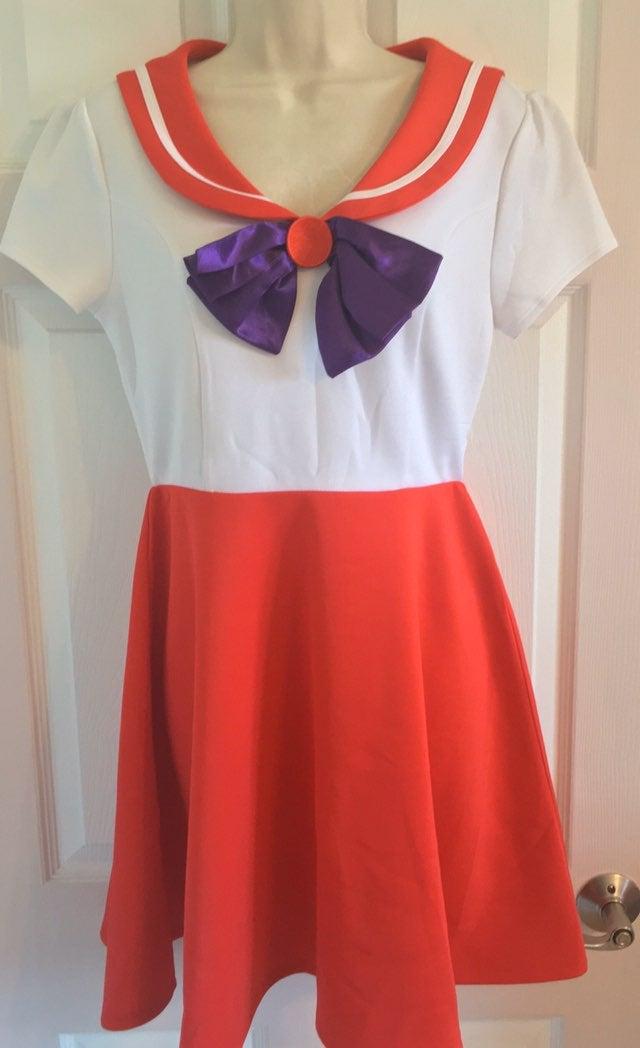 NEW Sailor Mars cosplay Costume Dress M