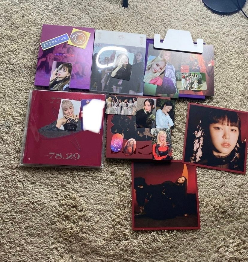 everglow albums everything Included