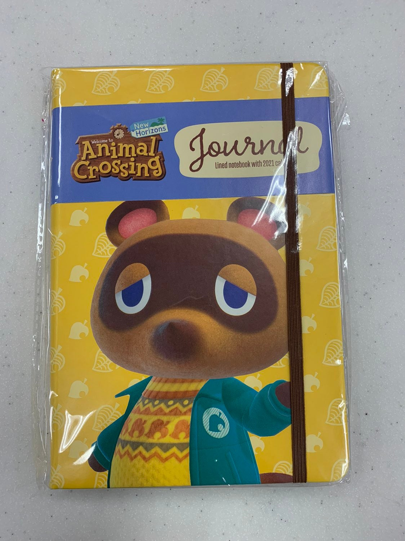 Animal Crossing Journal Calendar 2021