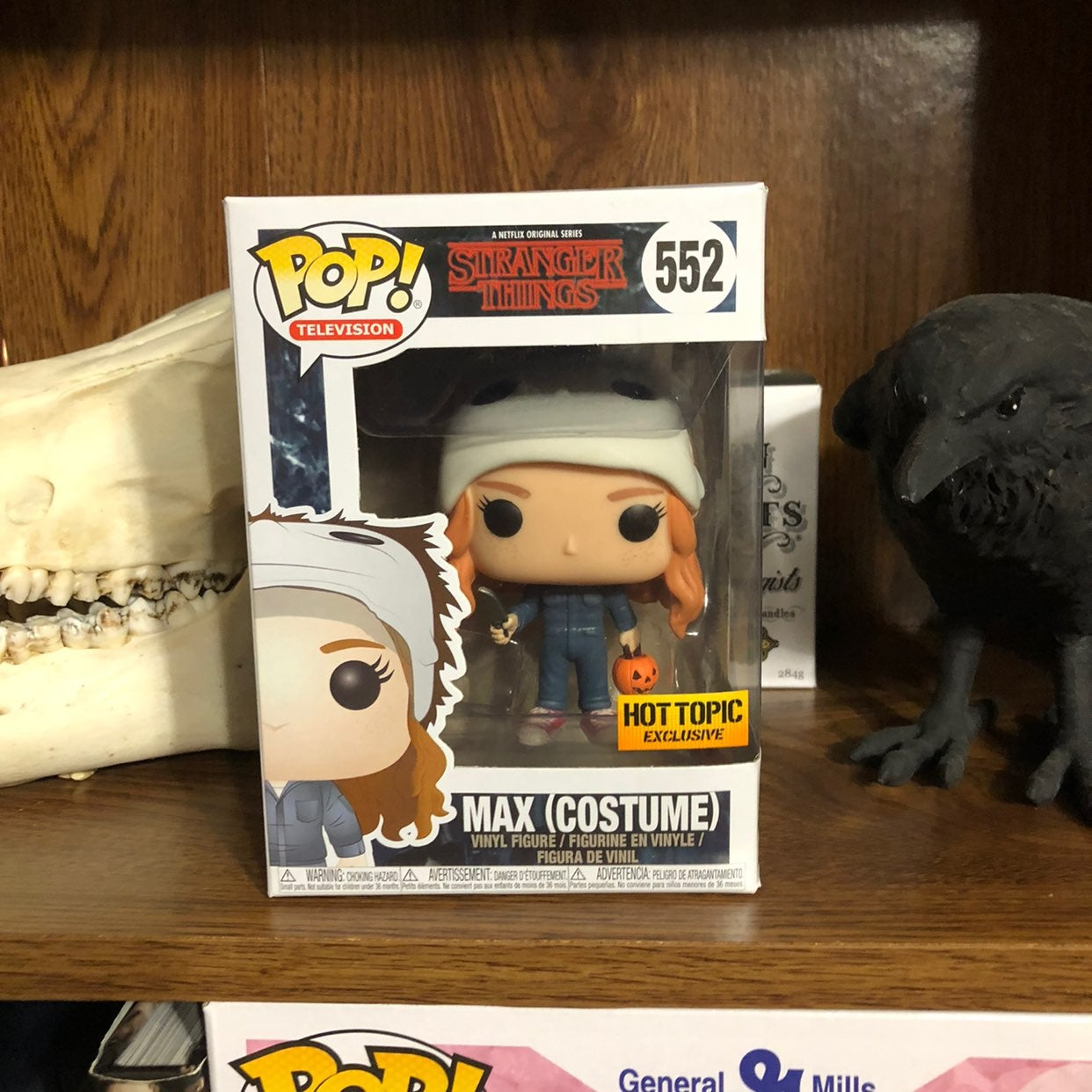 Max Halloween costume Funko Pop