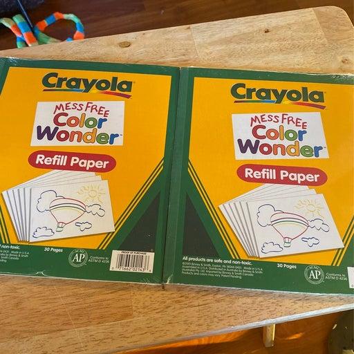 Color wonder paper refills