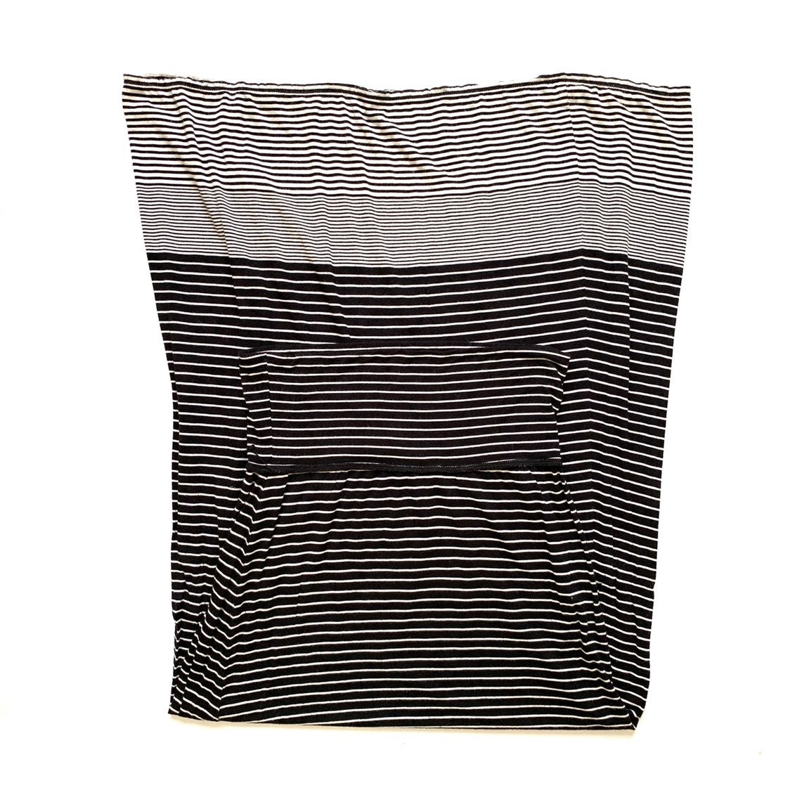 Max Studio Stripe Maxi Skirt Black Small