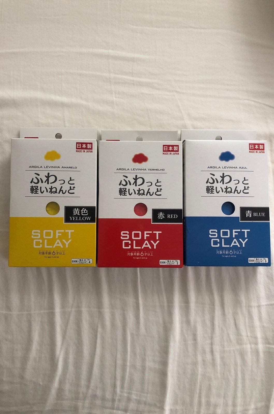 Daiso Clay Primary Color Bundle