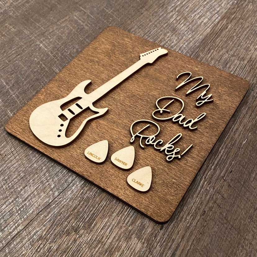 Fathers day sign - CUSTOM
