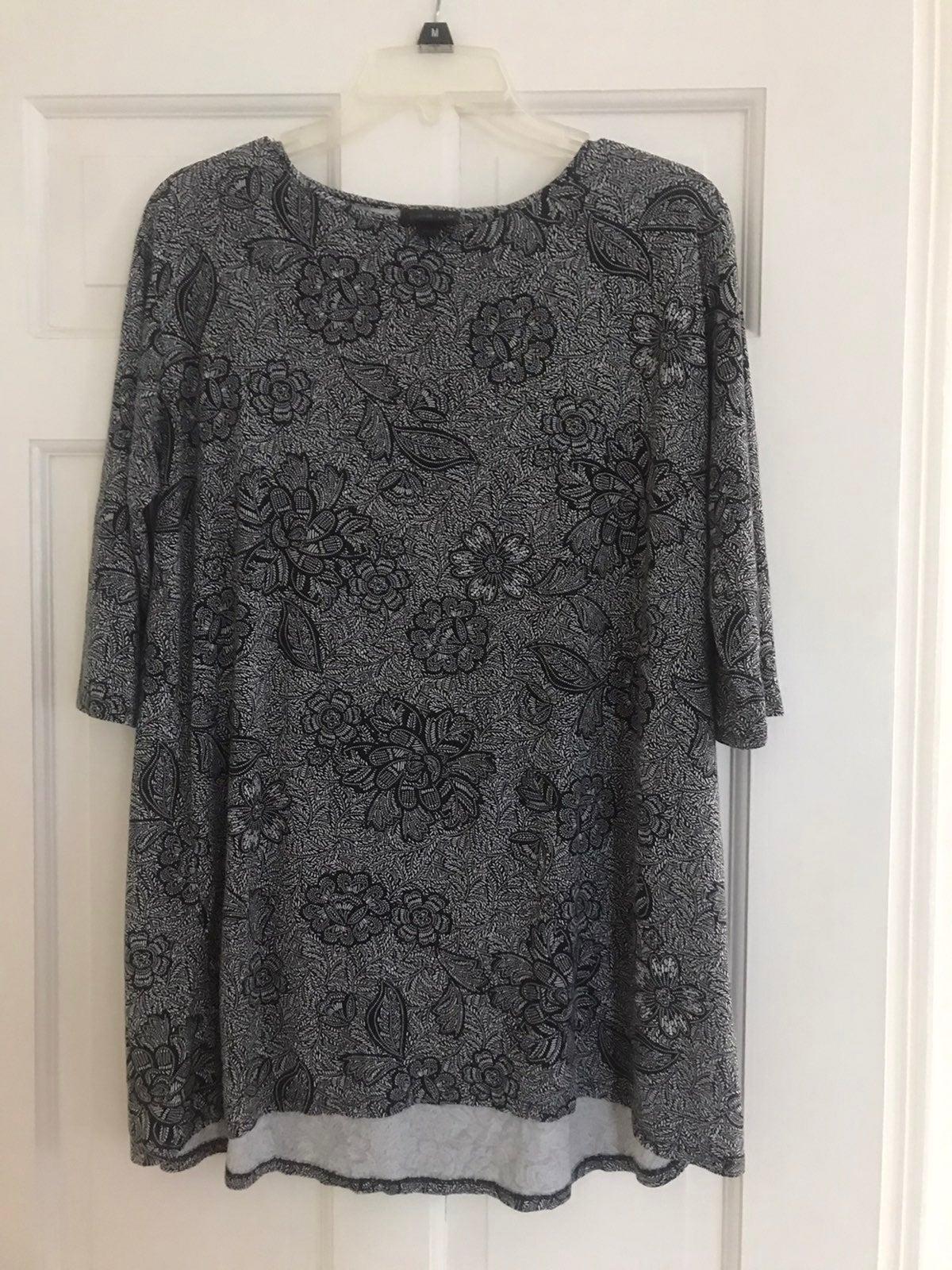 J Jill Wearever Line blouse