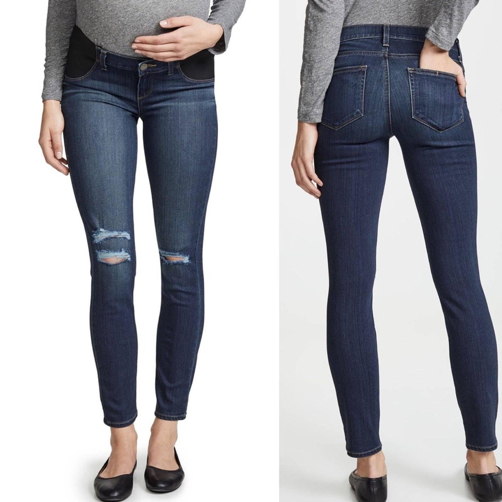 PAIGE Maternity Verdugo Skinny Jeans 29