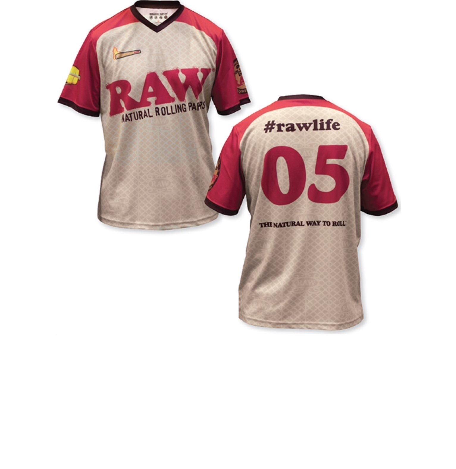 Large RAW Authentic Soccer Jersey