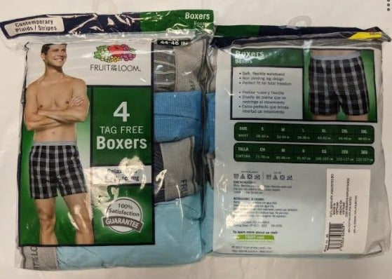 Fruit Of The Loom Woven Boxers 2XL