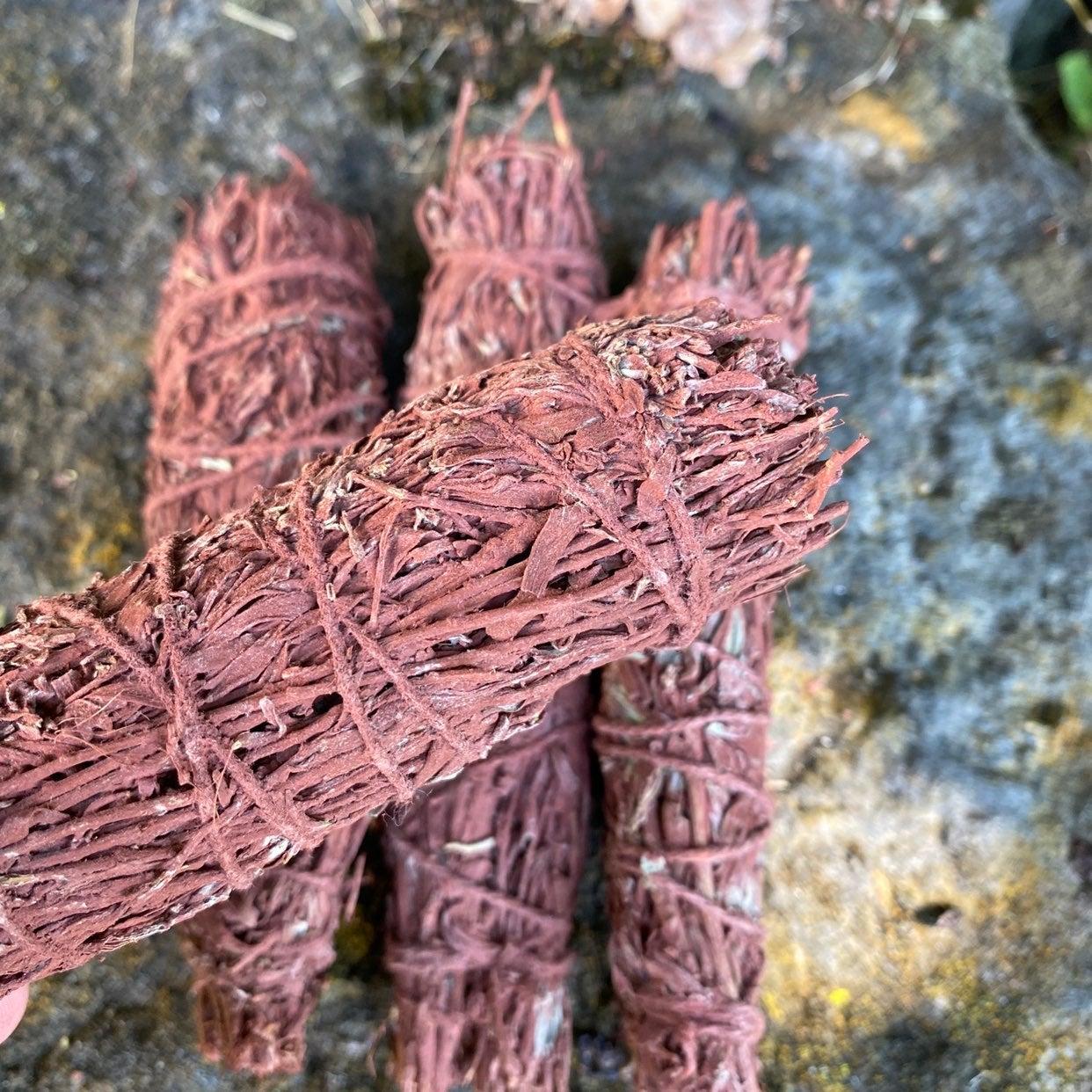 Dragon's Blood Sage Smudge Stick