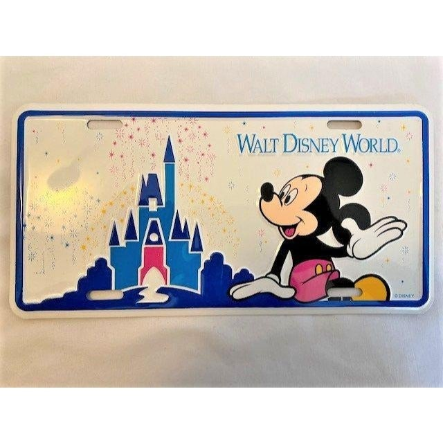 '89  Disney World license plate cover