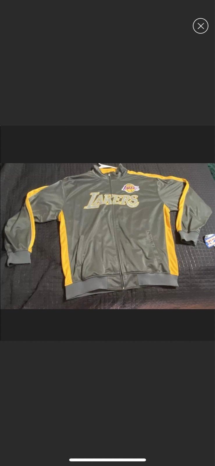 Mens Lakers Jacket size XXL