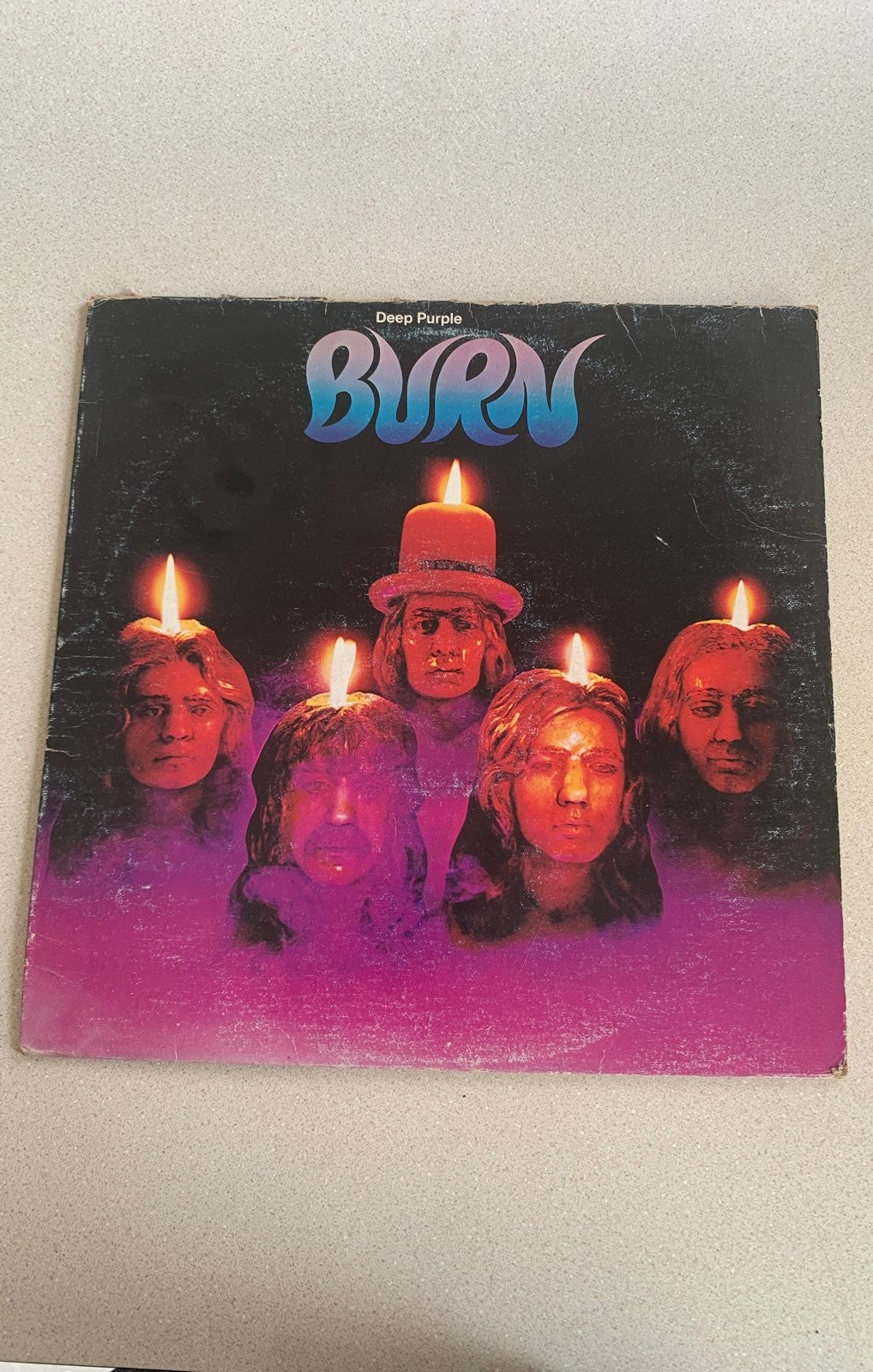 Deep Purple Burn Vinyl LP 1974 Original