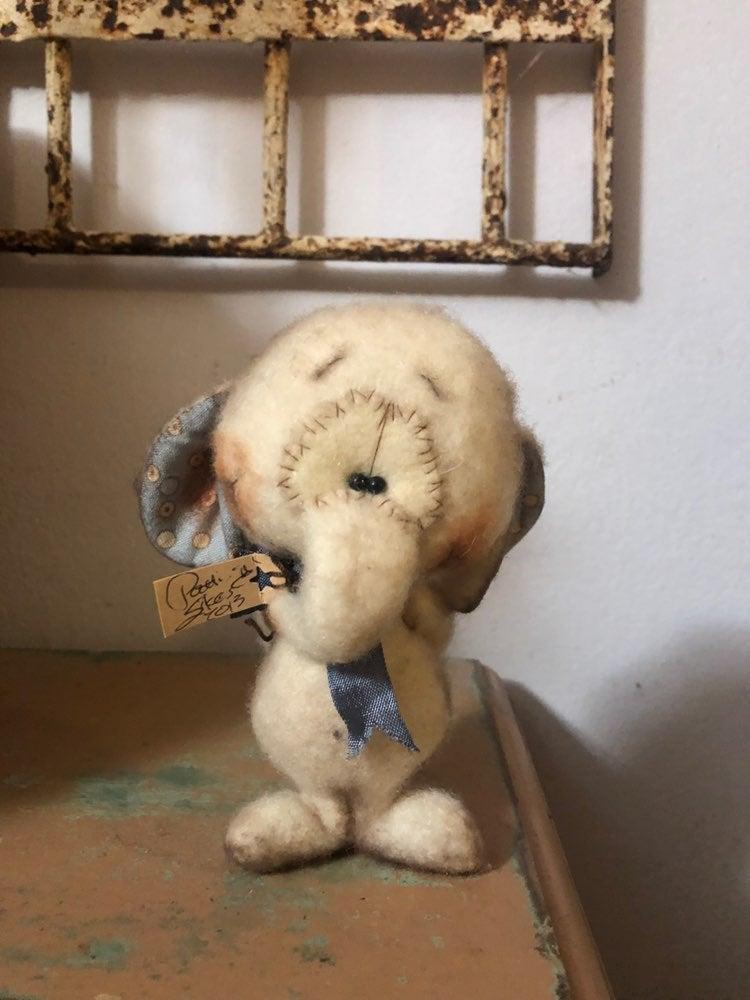 Lucky the Elephant Handmade Artist Patti