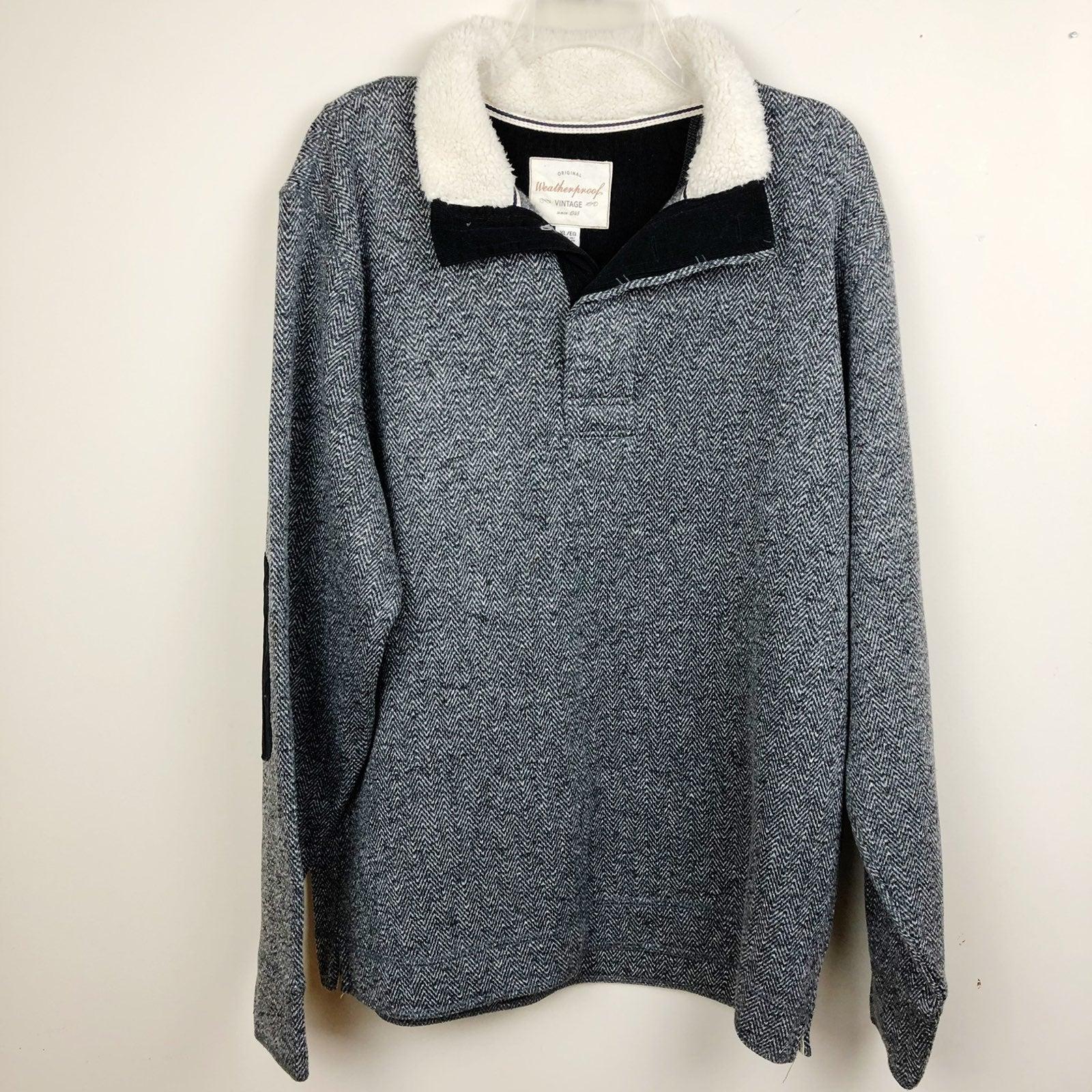 Weatherproof Fleece Pullover Elbow XL