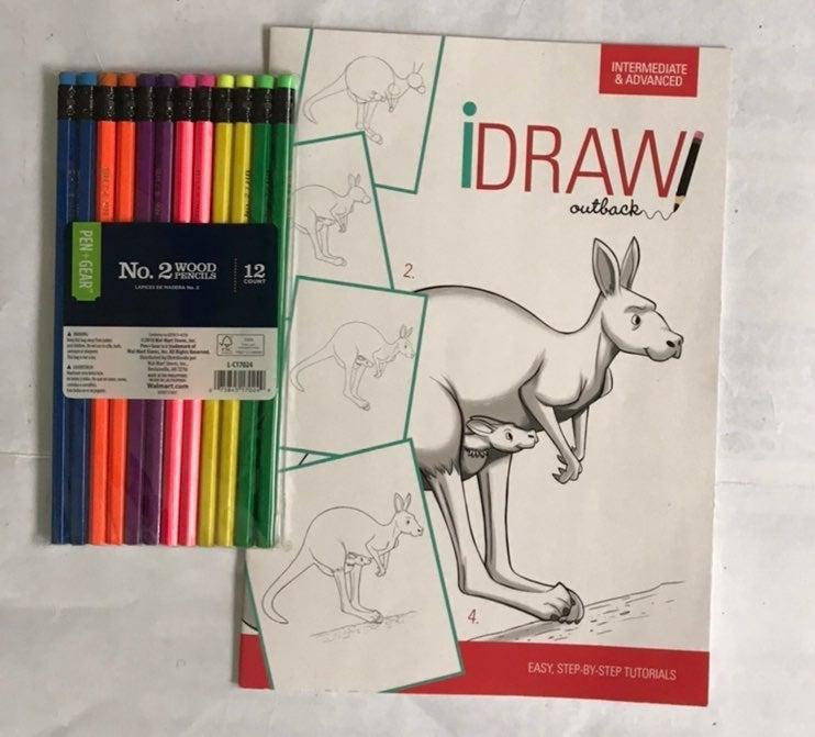 iDraw/ pencils # 2 included