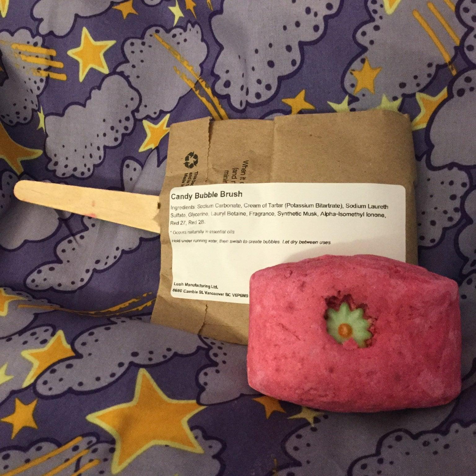 Lush Ltd Ed Candy Bubble Bar Duo