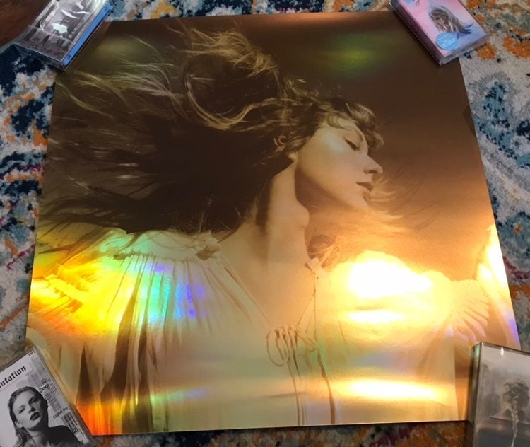 Taylor Swift Fearless Album Cover Lithog