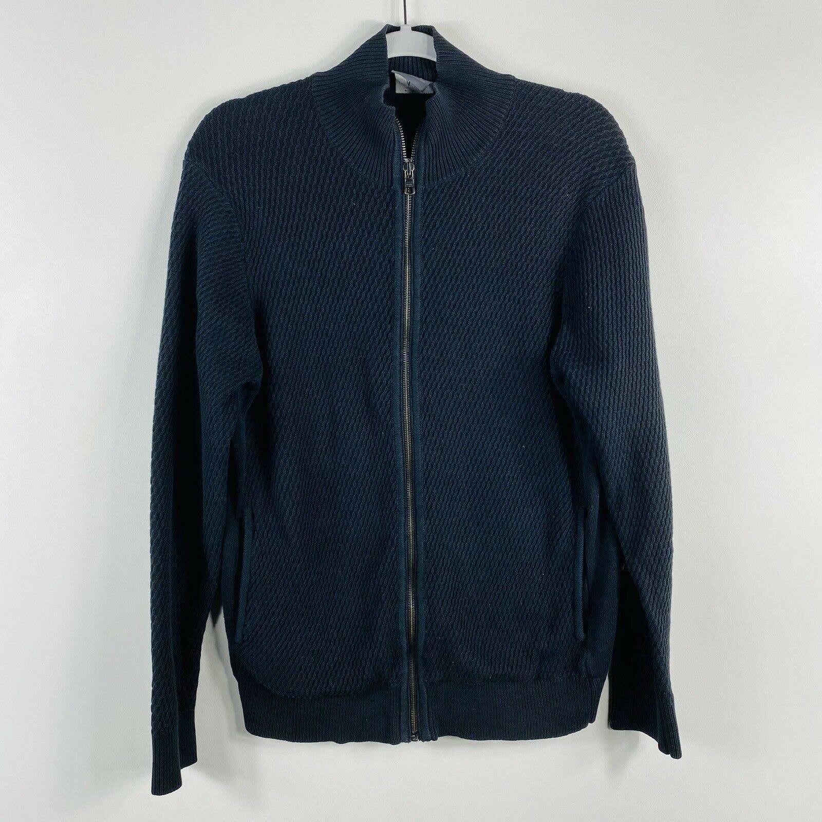 Armani Exchange Sz Medium Zip Up Jacket