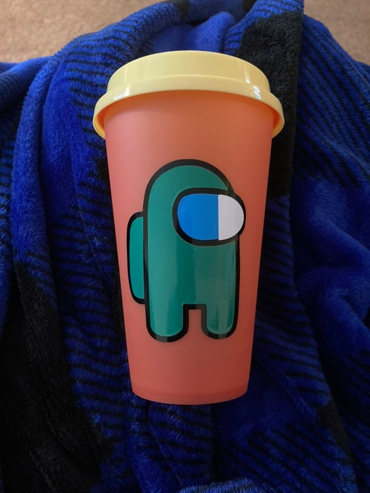 Among US hot color changing cup