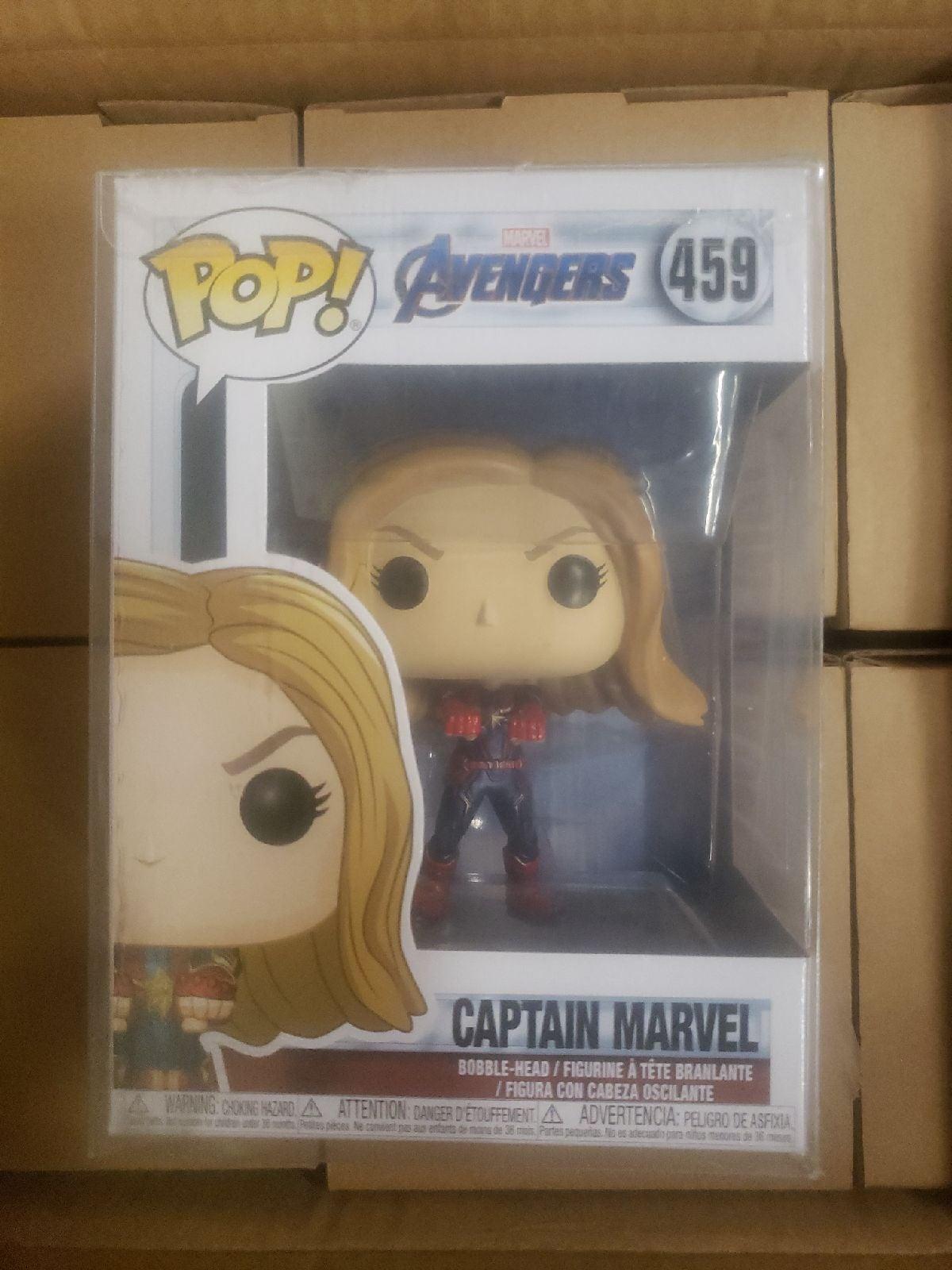 Captain Marvel Avengers 459 Funko