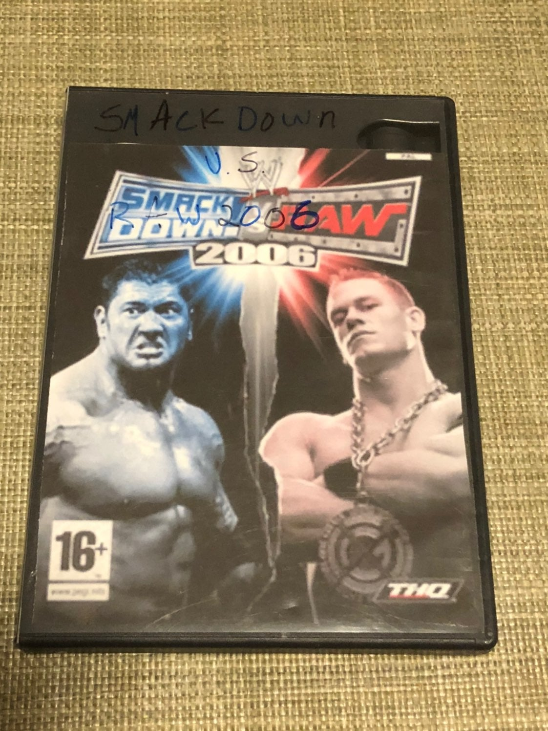WWE SmackDown vs Raw 2006 PS2 Game