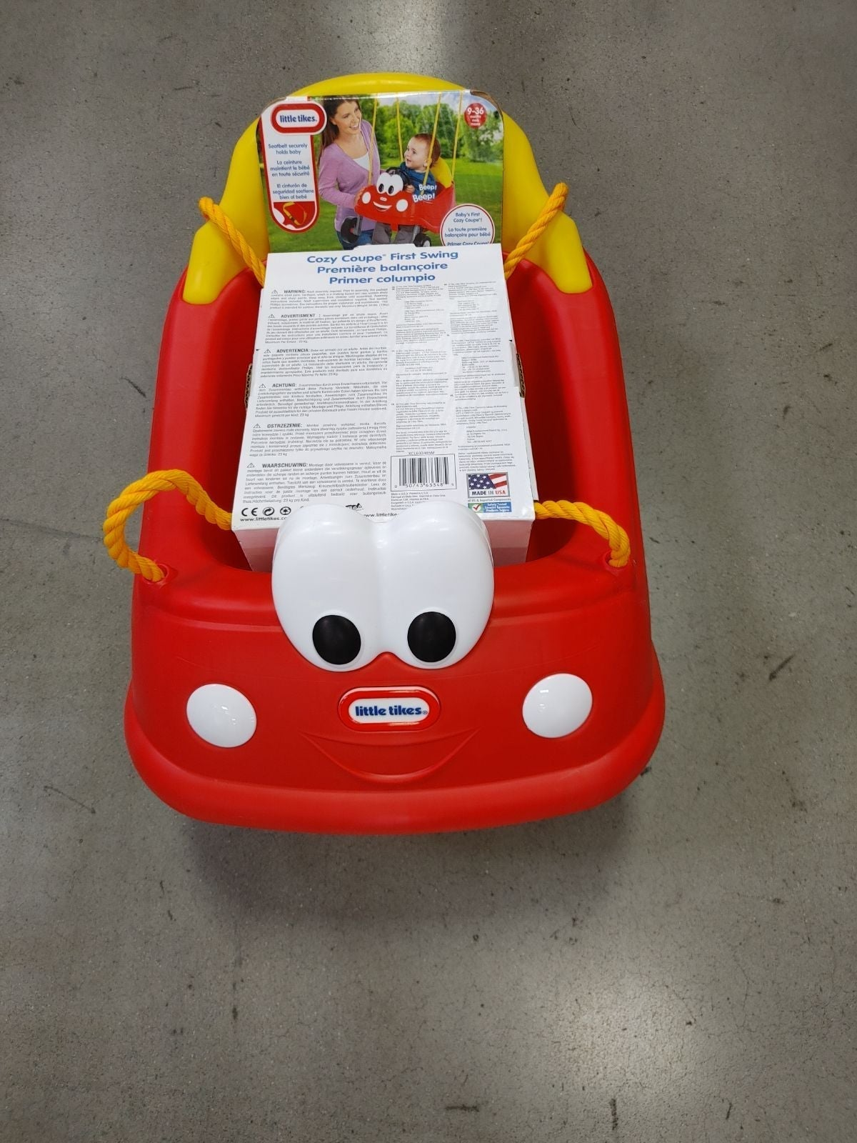 Little Tikes Cozy Coupe First Swing NEW