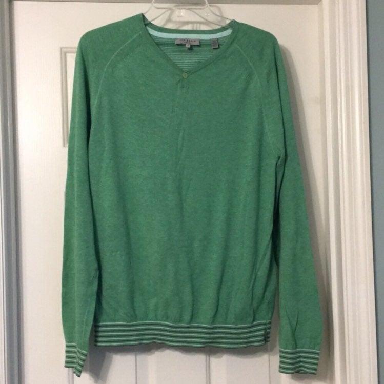 Ted Baker Lindon Cotton Sweater Medium