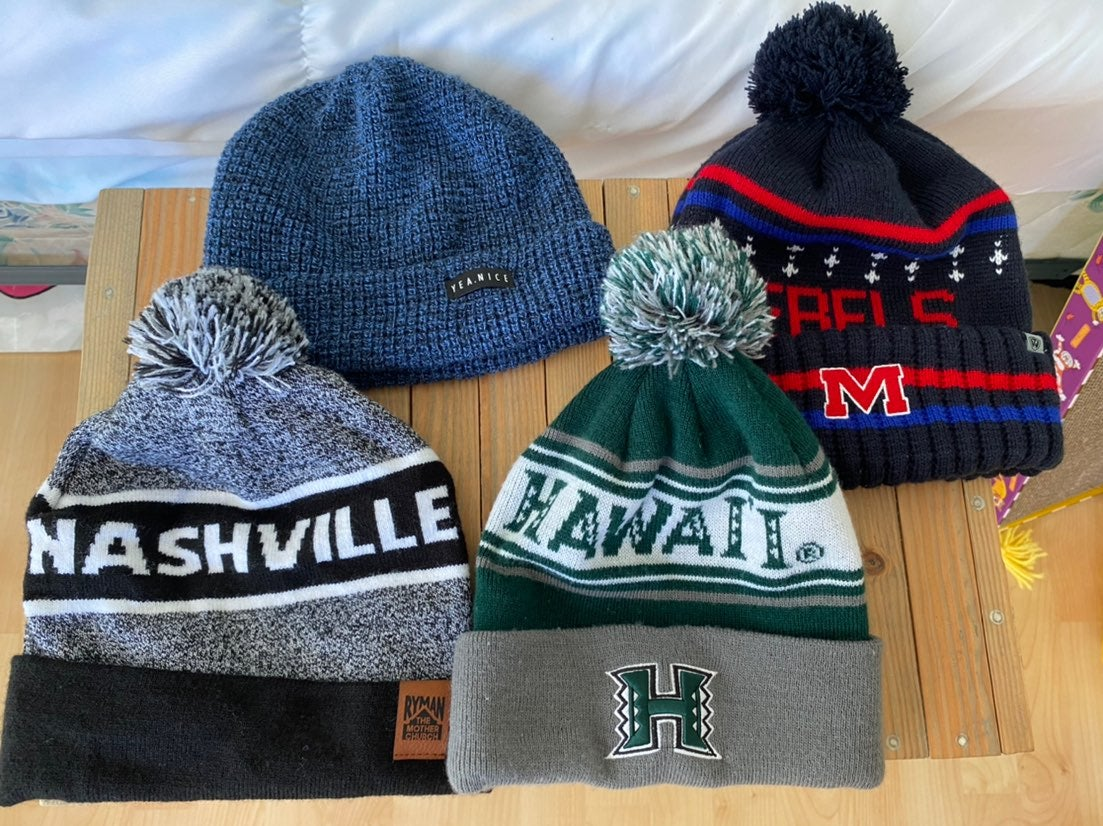 Variety of Beanies