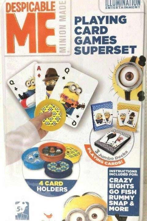 Despicable Me Playin Card Games Superset