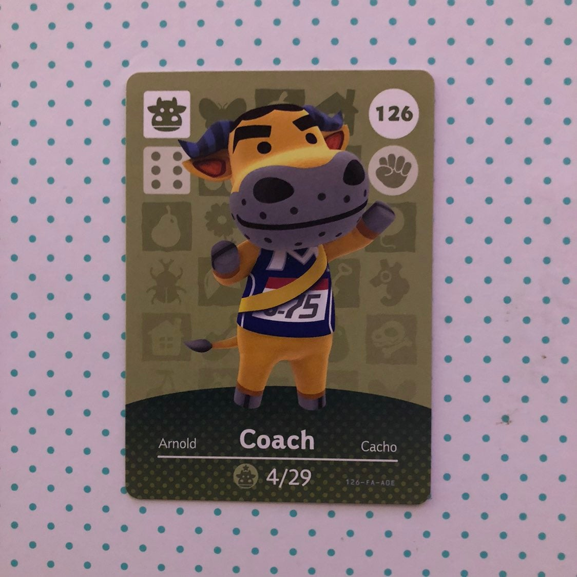 Animal Crossing Amiibo Card Coach