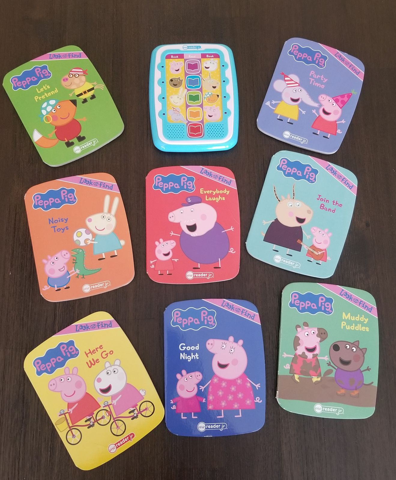 Peppa pig Electronic Reader & 8 books