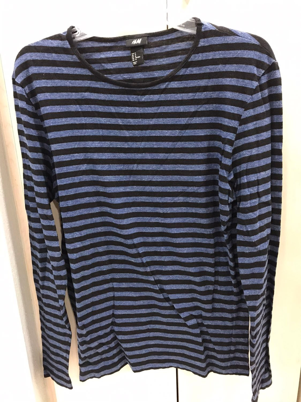 H & M Striped Long Sleeve