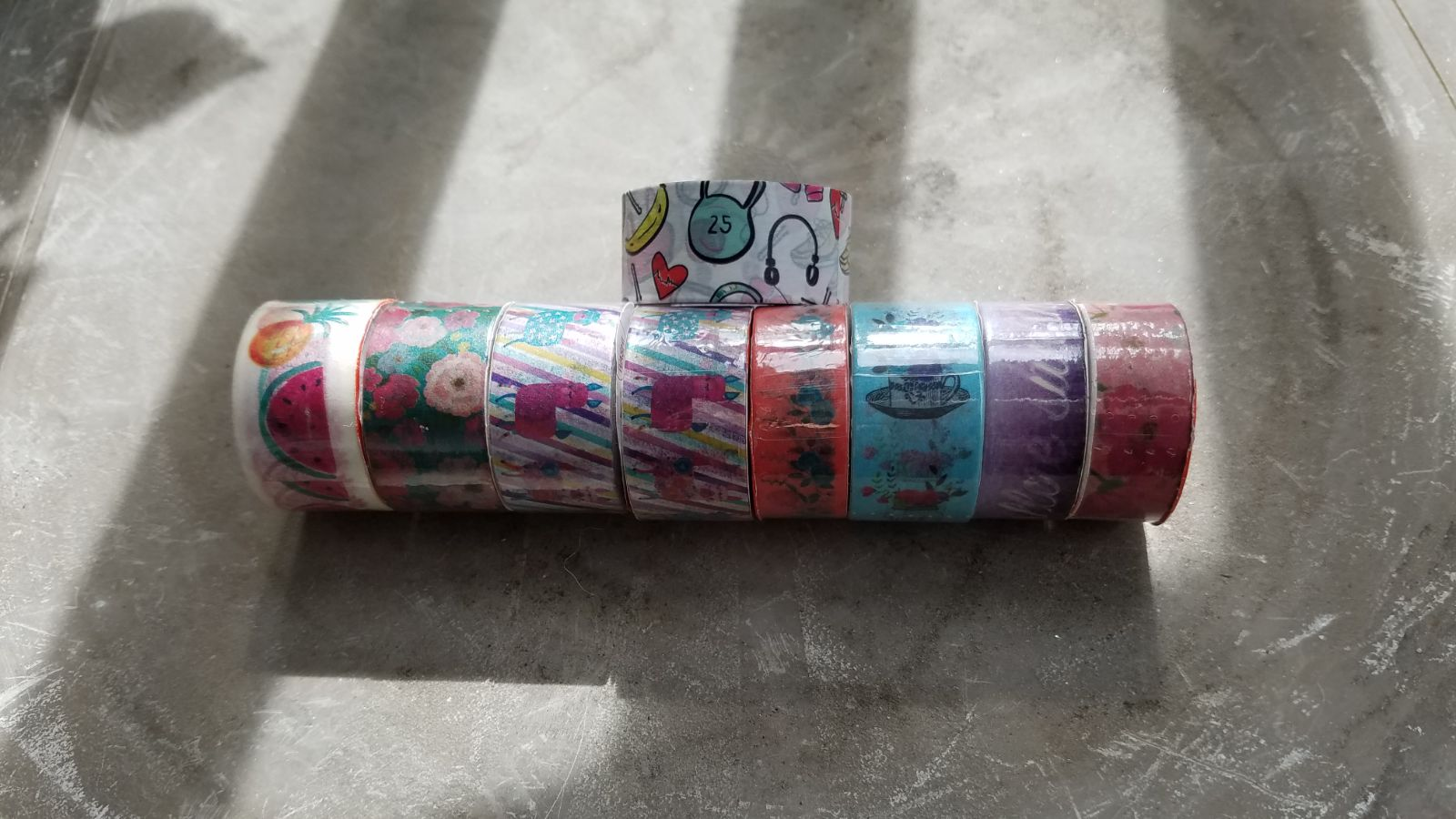 Lot of Washi craft tape