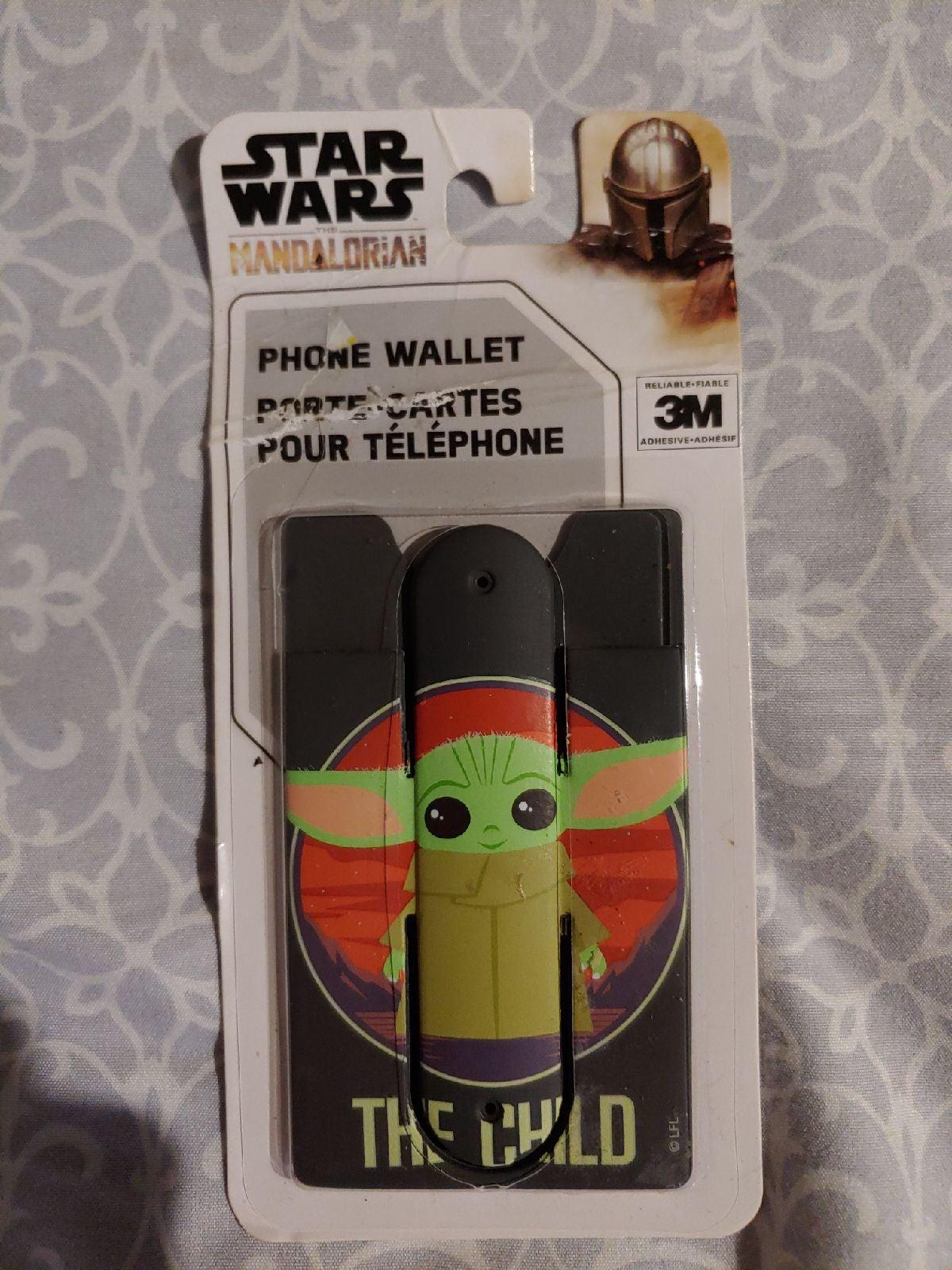 Baby Yoda phone case wallet