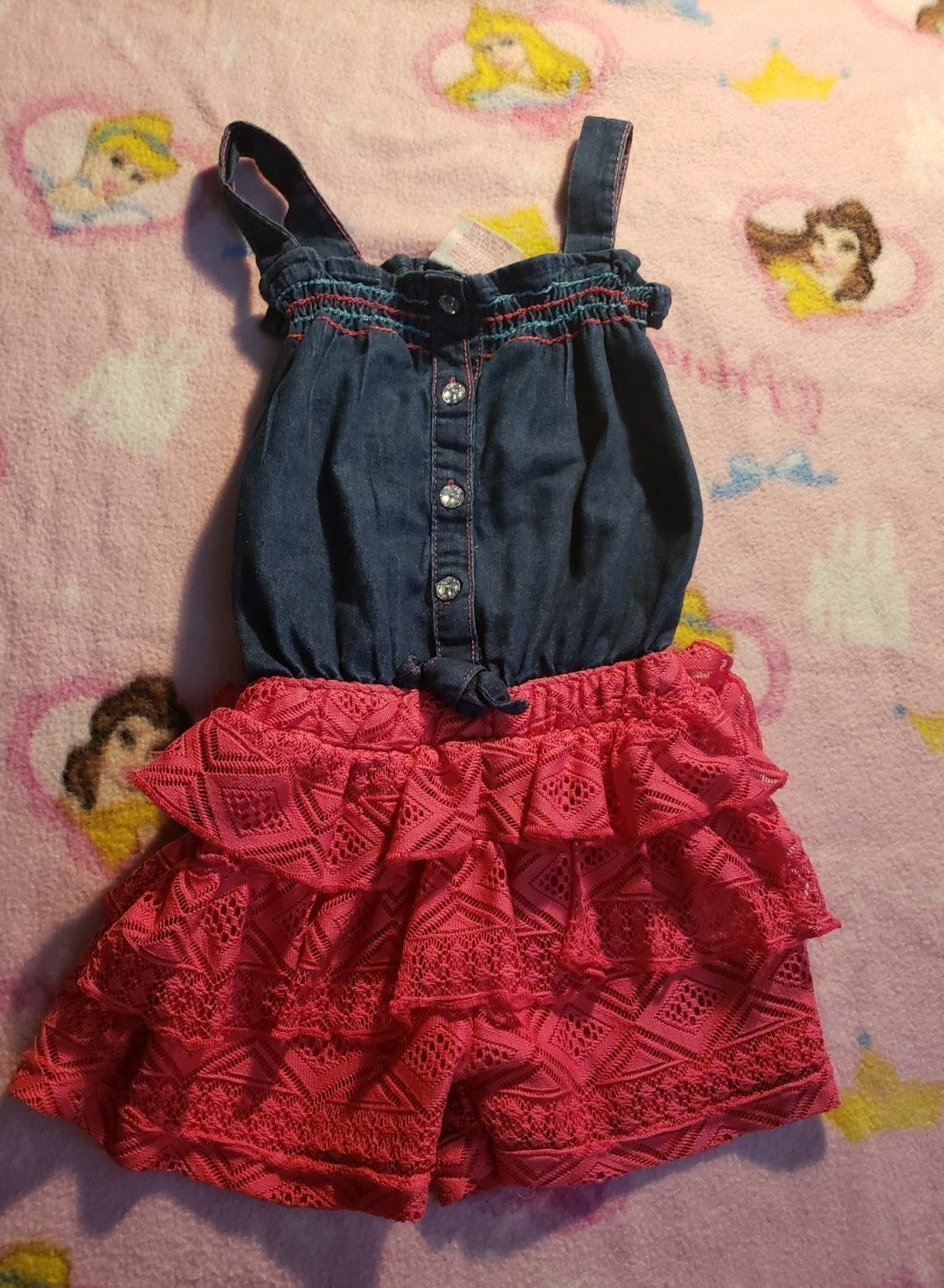 Girls romper 4t real love