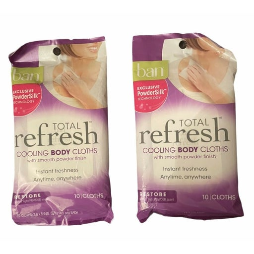 2 BAN TOTAL Refresh COOLING BODY CLOTHS