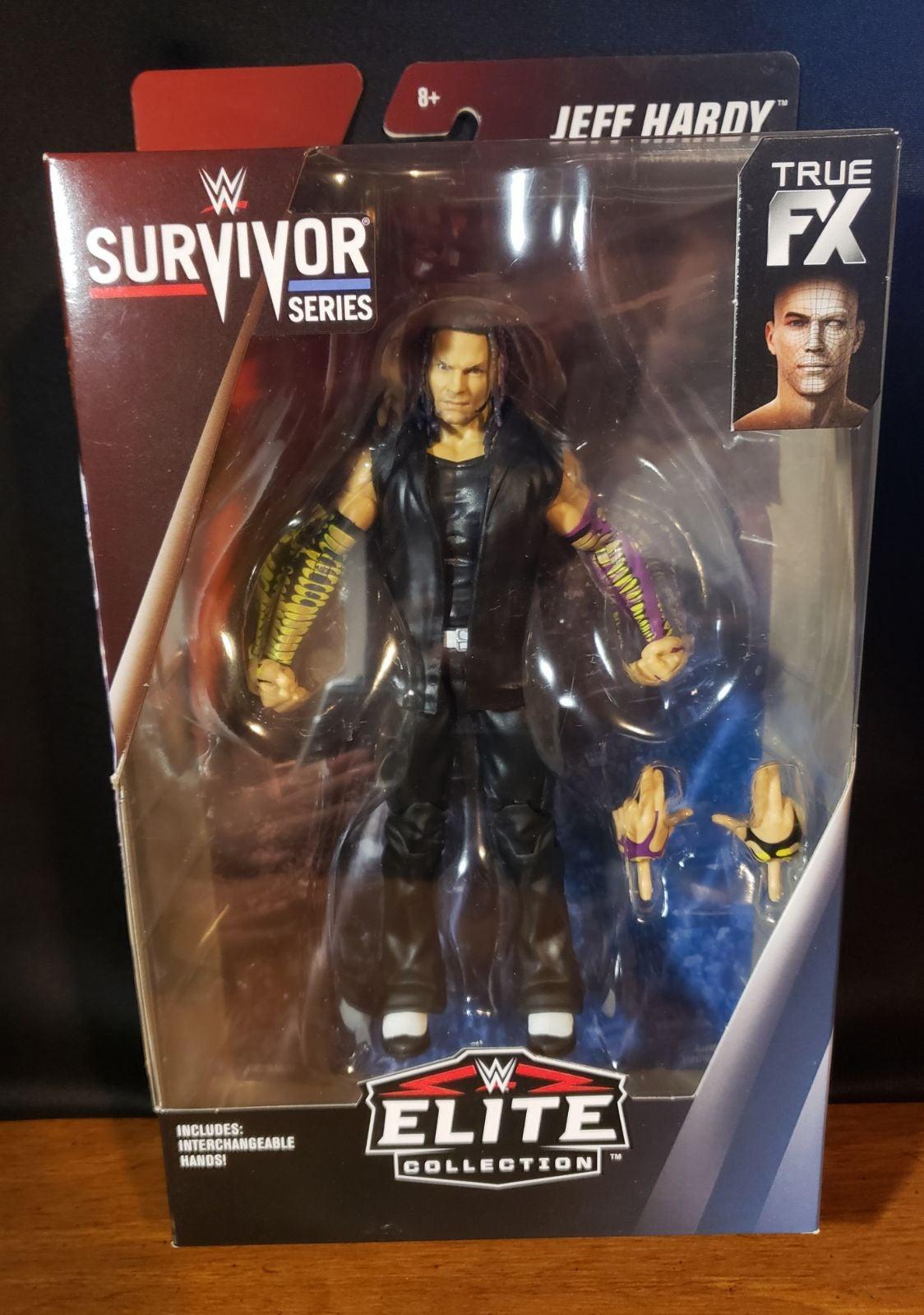 Wwe Elite Survivor Series Jeff Hardy Fig
