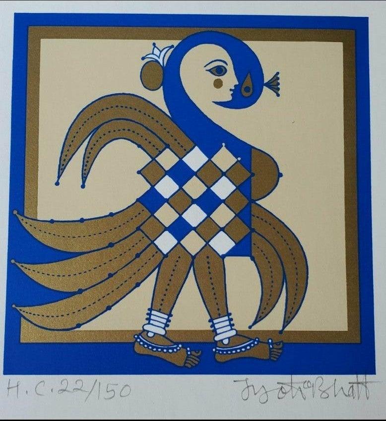 Jyoti Bhatt foreign figures I India Art