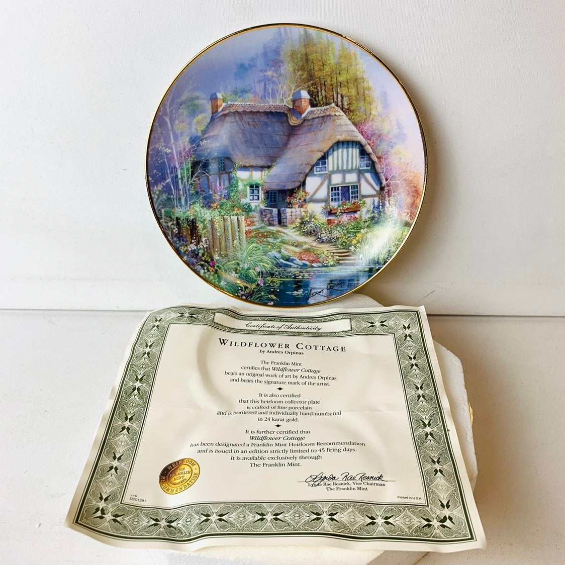 Franklin Mint Andres Orpinas Collectible
