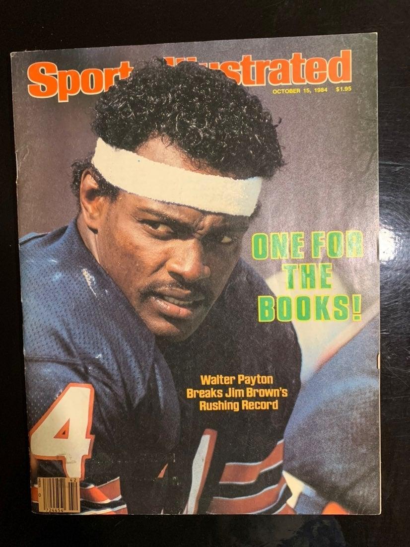 Walter Payton Sports Illustrated