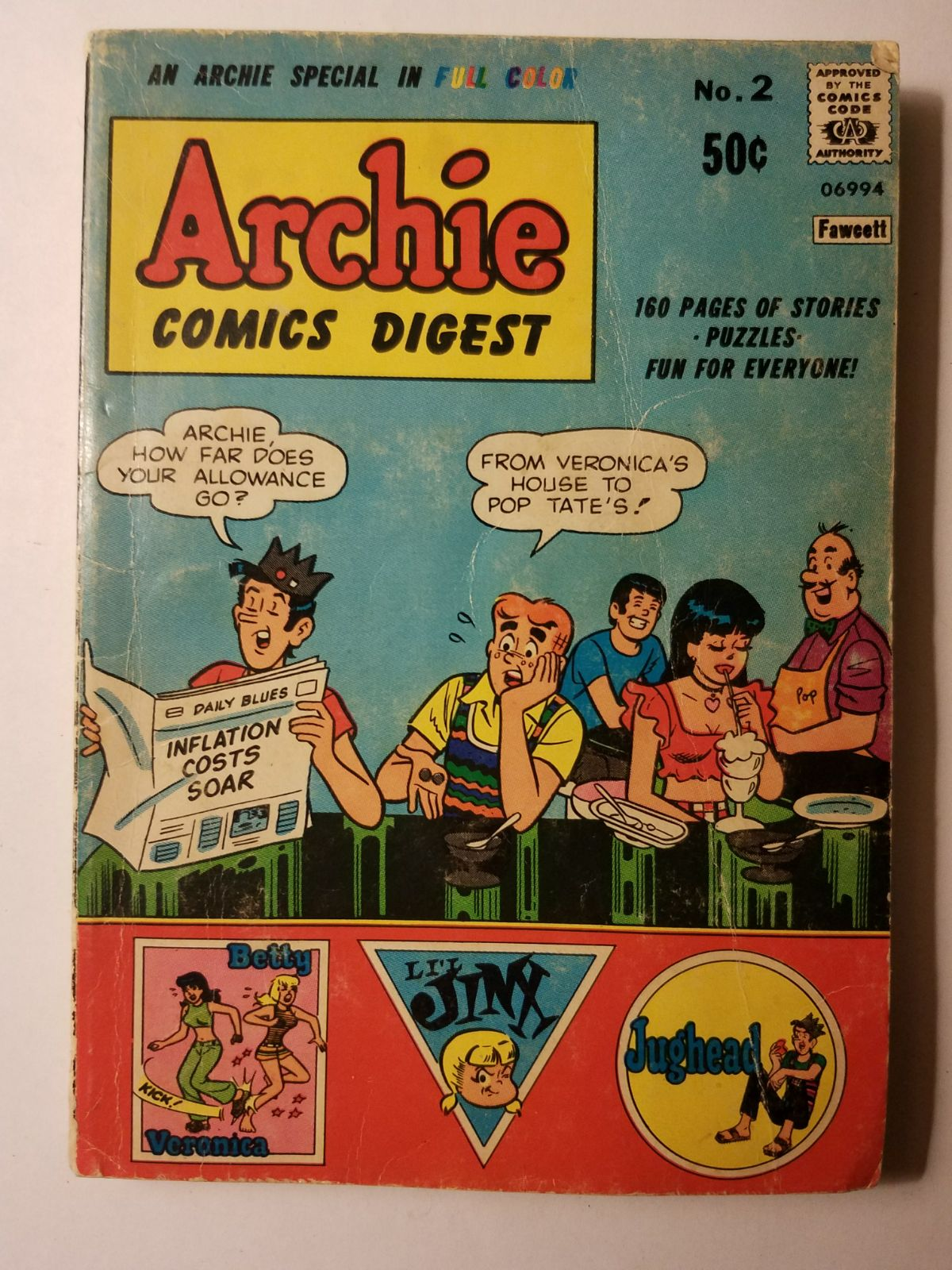 1973 Archie Digest #2