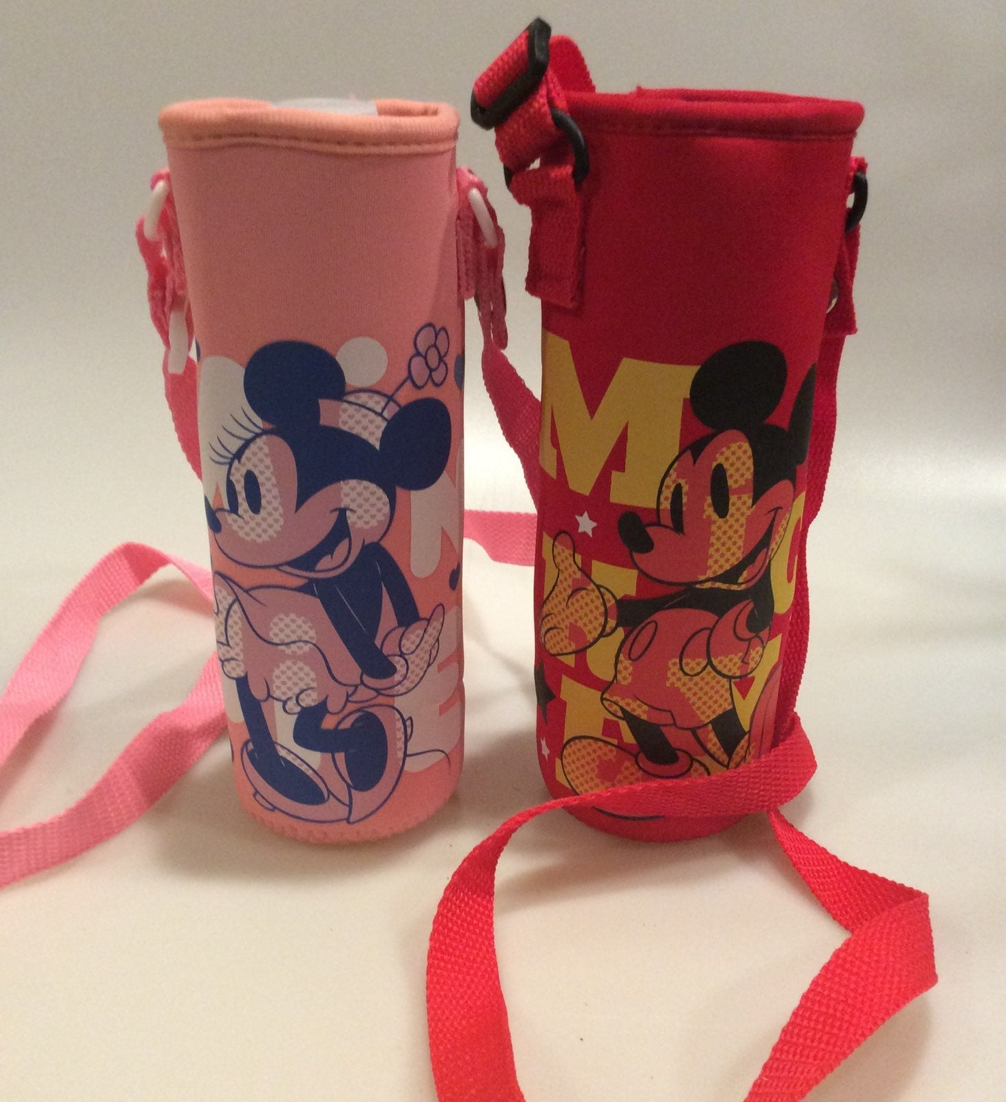 Mickey/Minnie Water Bottle Holders