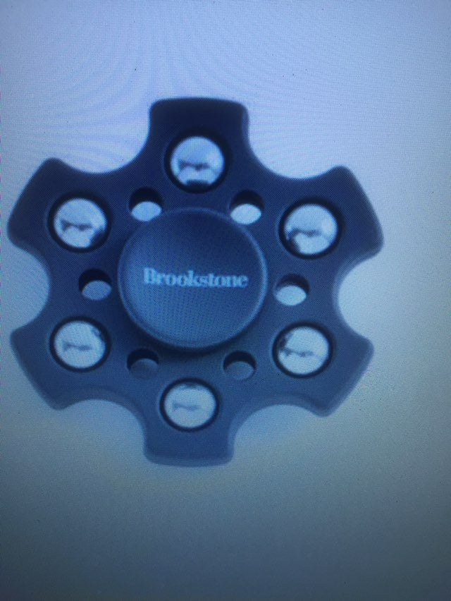 Lot Of 10 Brookstone Fidget Spinners