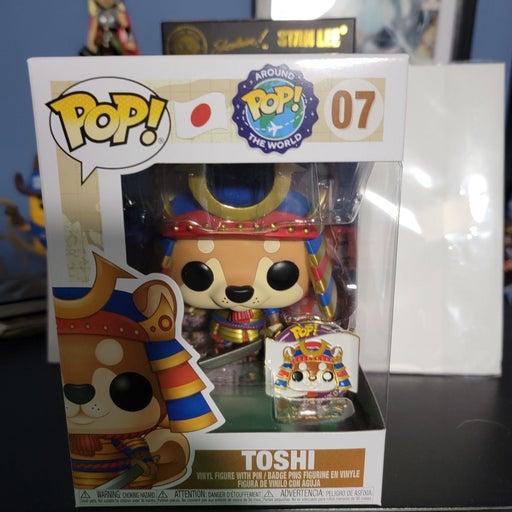 Pop Around The World Toshi Funko Pop