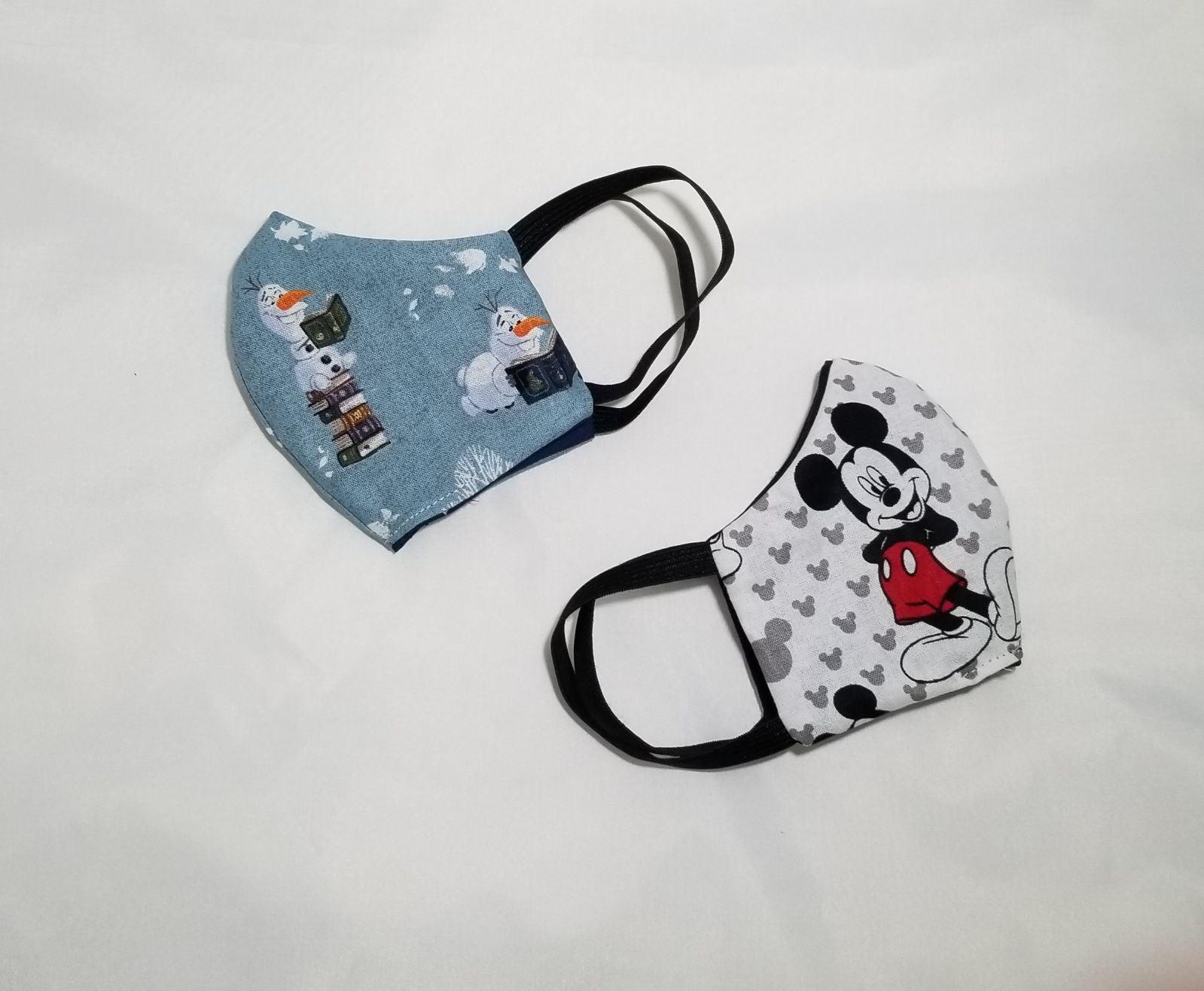 Set of 2 Toddler Face Masks
