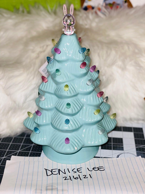 Mr Cottontail Light up Tree